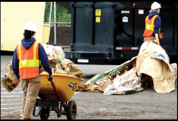 Naps - nettoyage sites de chantiers